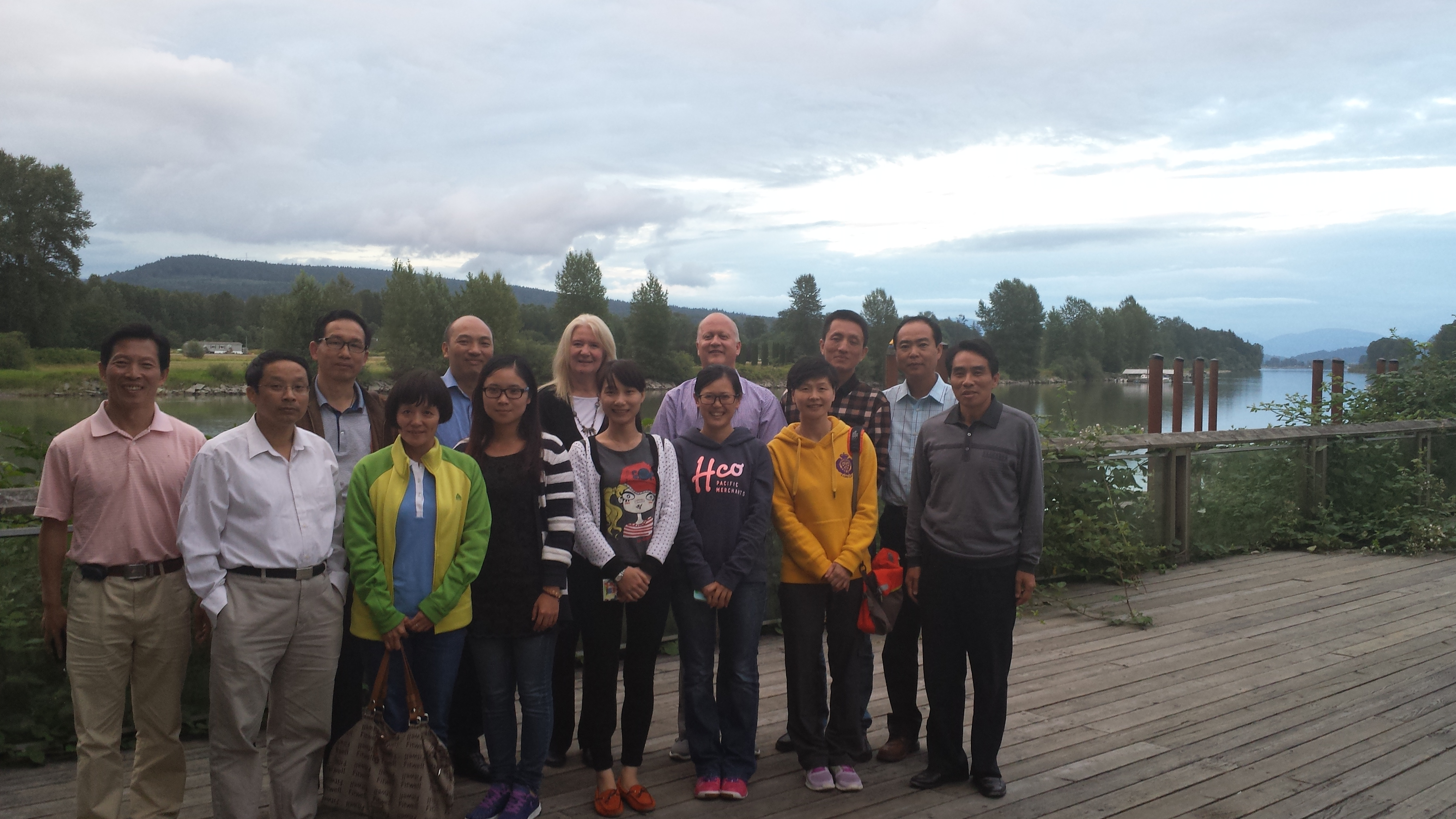 Langley School District: Visitors From Fuzhou , China !