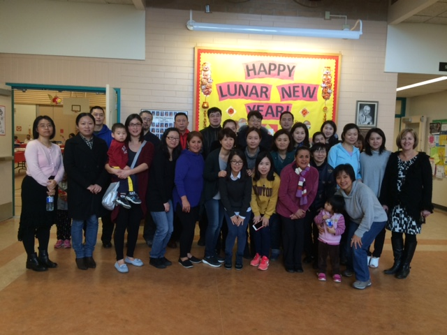 Langley School District: Lunar New Year Luncheon At AHE