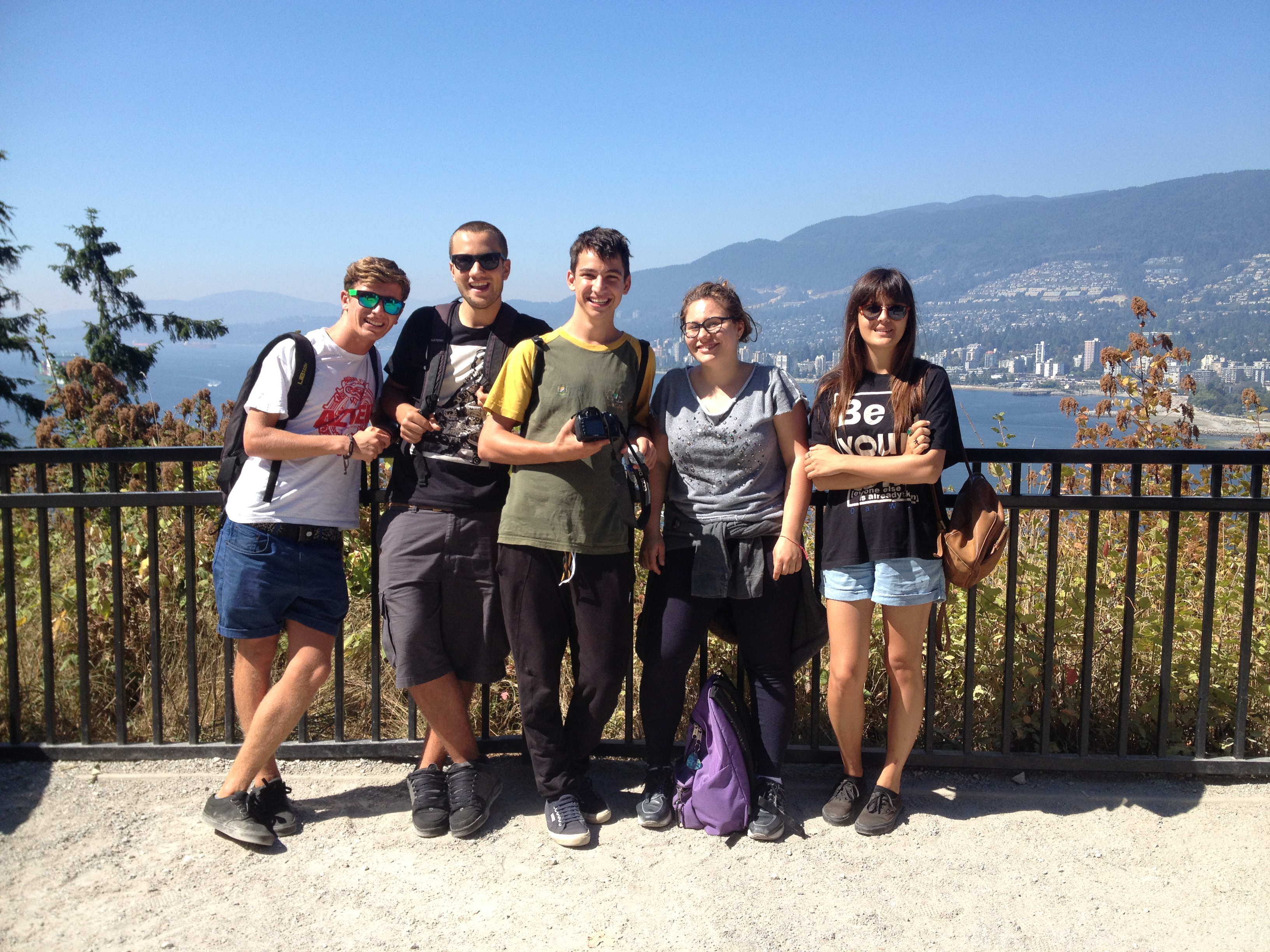 Langley School District: August New Student Orientation Vancouver Day Trip